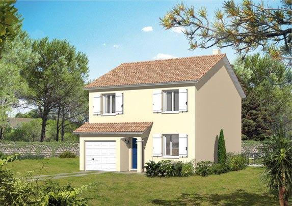 Maisons + Terrains du constructeur MAISON FAMILIALE • 78 m² • PERSAN