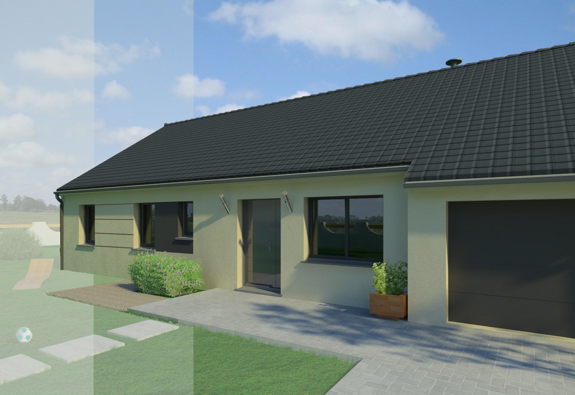 Maisons + Terrains du constructeur MAISON FAMILIALE • 116 m² • BEAUGENCY