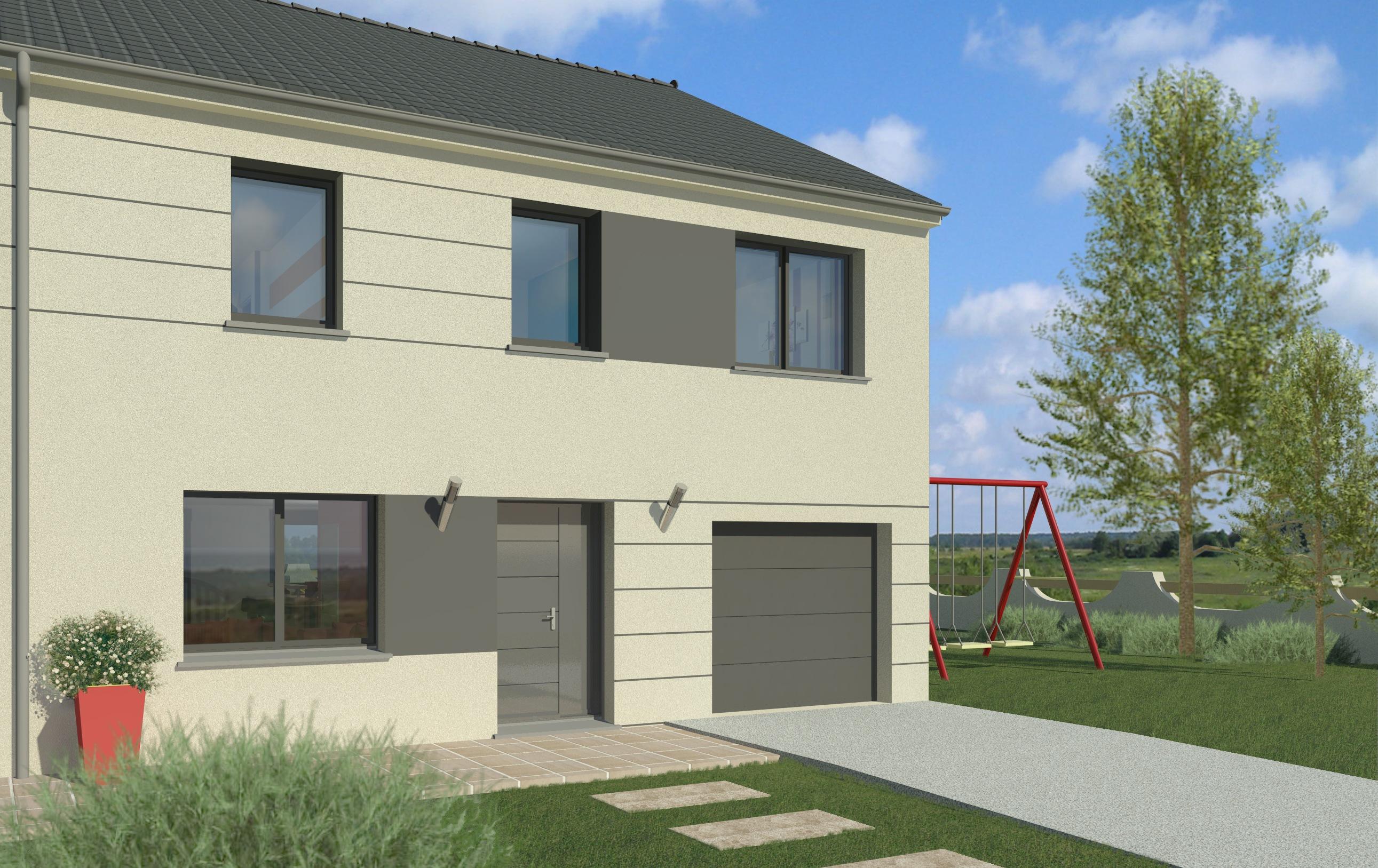 Maisons + Terrains du constructeur MAISON FAMILIALE • 130 m² • CHATEAUNEUF SUR LOIRE