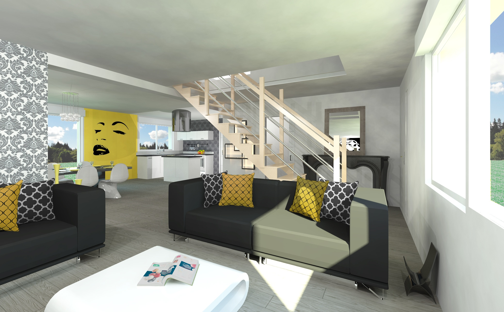 Maisons + Terrains du constructeur MAISON FAMILIALE • 121 m² • BEAUGENCY