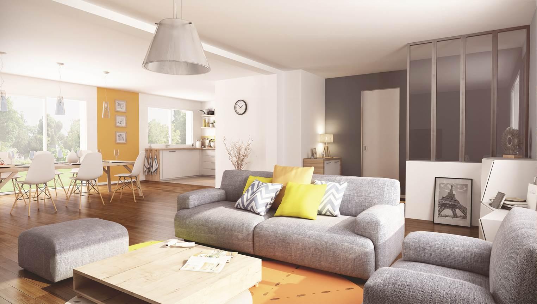 Maisons + Terrains du constructeur MAISON FAMILIALE • 113 m² • MARIGNY LES USAGES