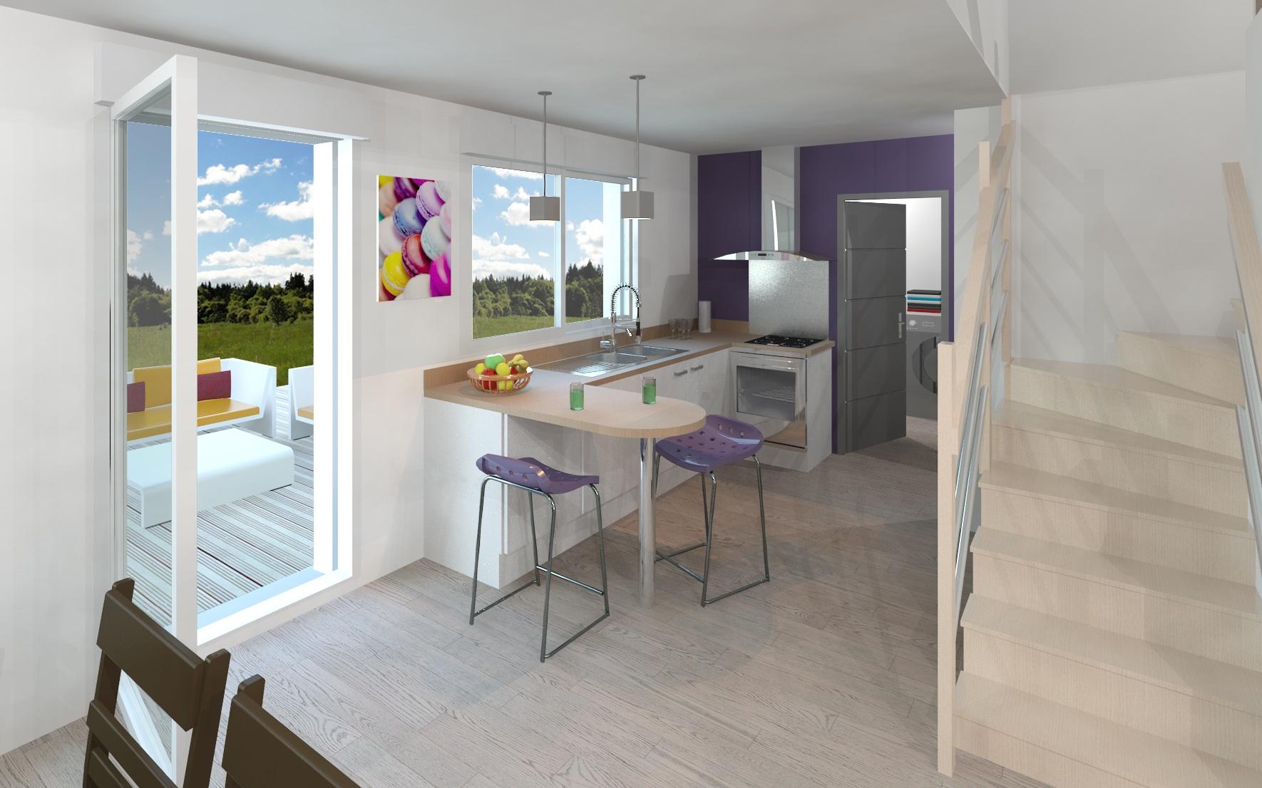 Maisons + Terrains du constructeur MAISON FAMILIALE • 130 m² • MEUNG SUR LOIRE