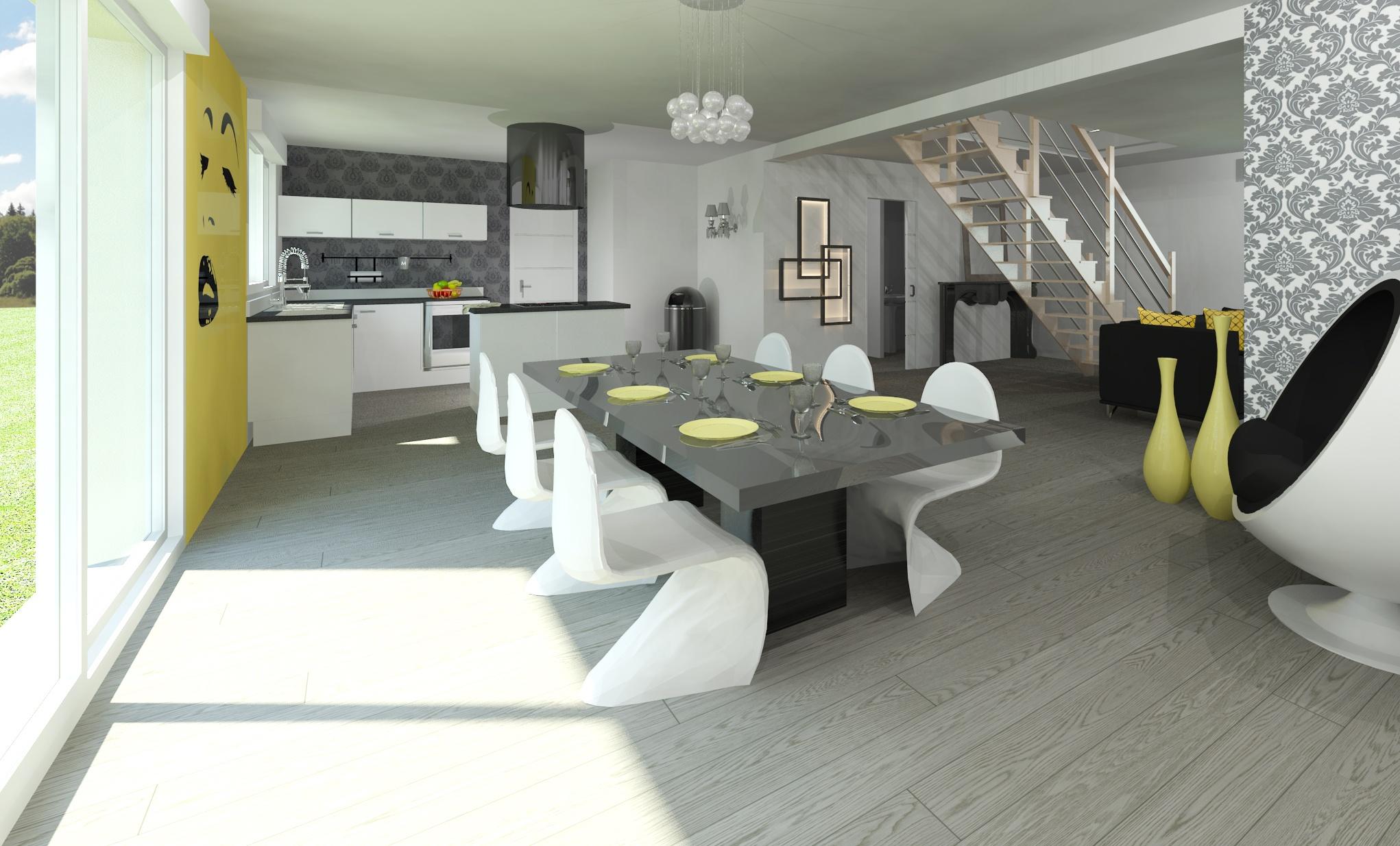 Maisons + Terrains du constructeur MAISON FAMILIALE • 121 m² • CHAINGY