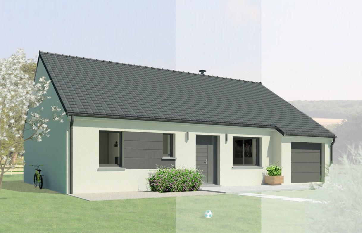 Maisons + Terrains du constructeur MAISON FAMILIALE • 93 m² • MEUNG SUR LOIRE