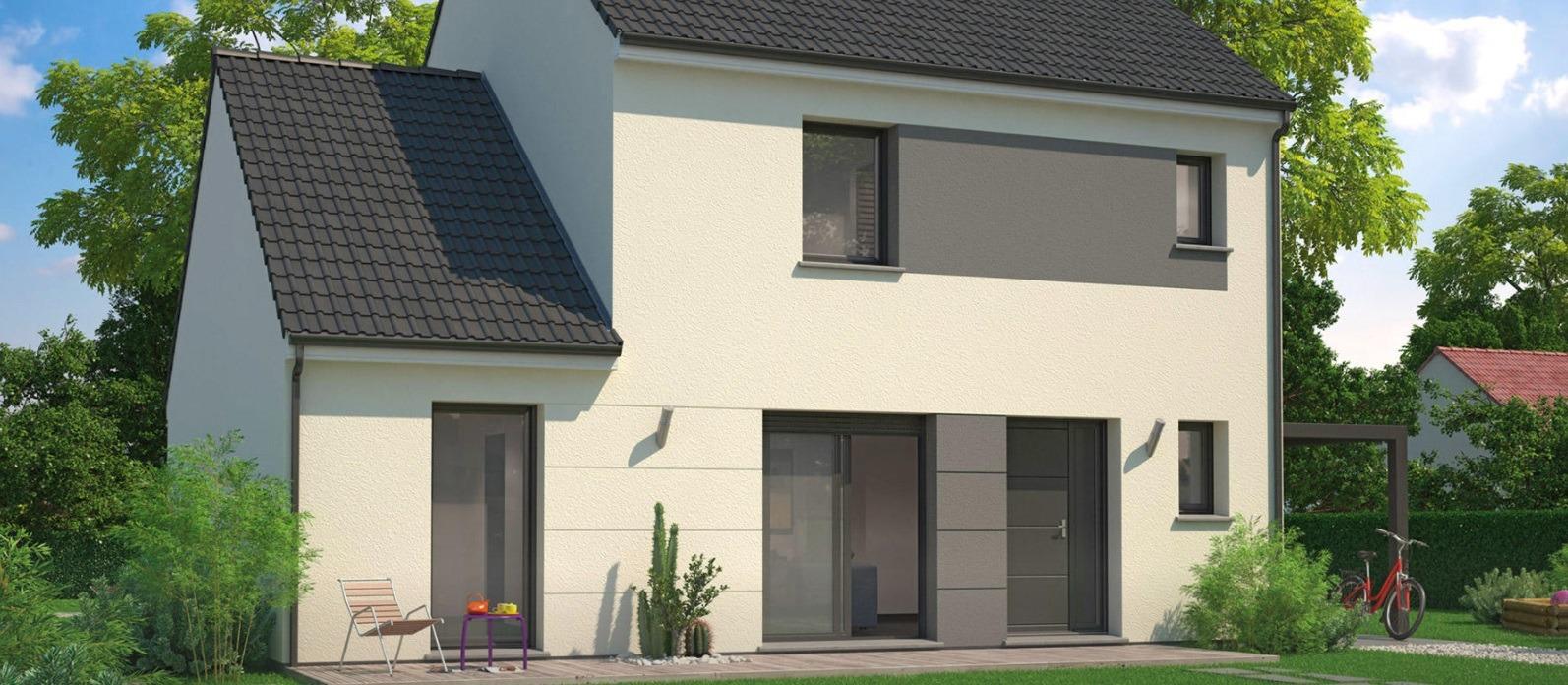 Maisons + Terrains du constructeur MAISONS PHENIX • 106 m² • LESMENILS