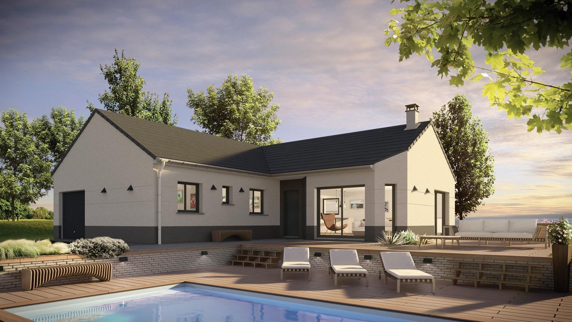 Maisons + Terrains du constructeur MAISONS PHENIX • 104 m² • LUNEVILLE