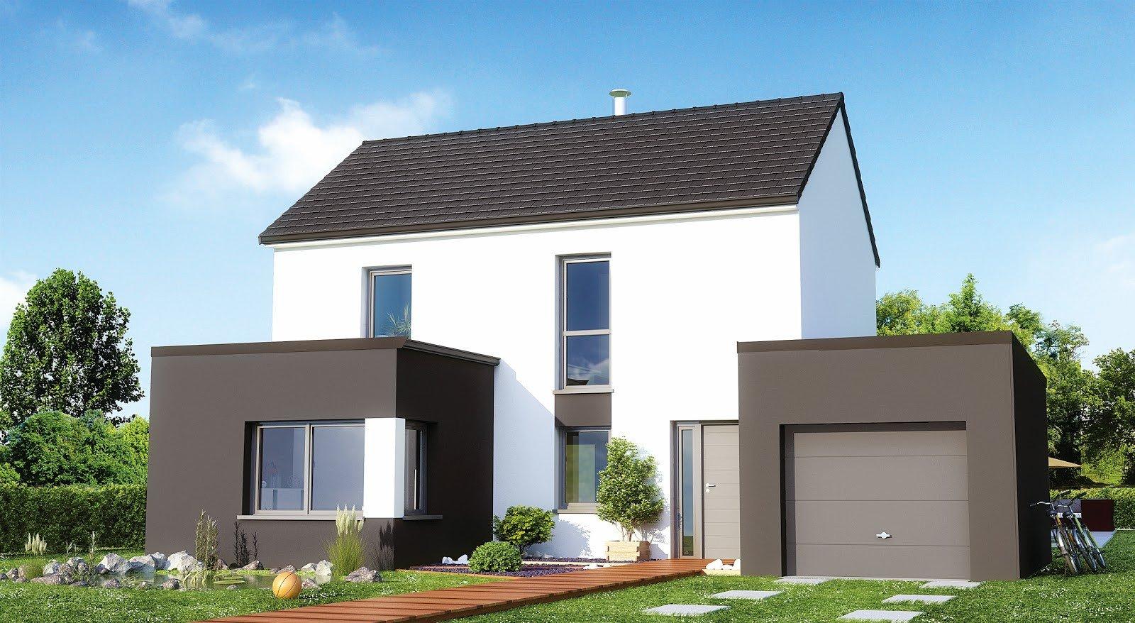 Maisons + Terrains du constructeur Maisons Phénix Nancy • 106 m² • ART SUR MEURTHE