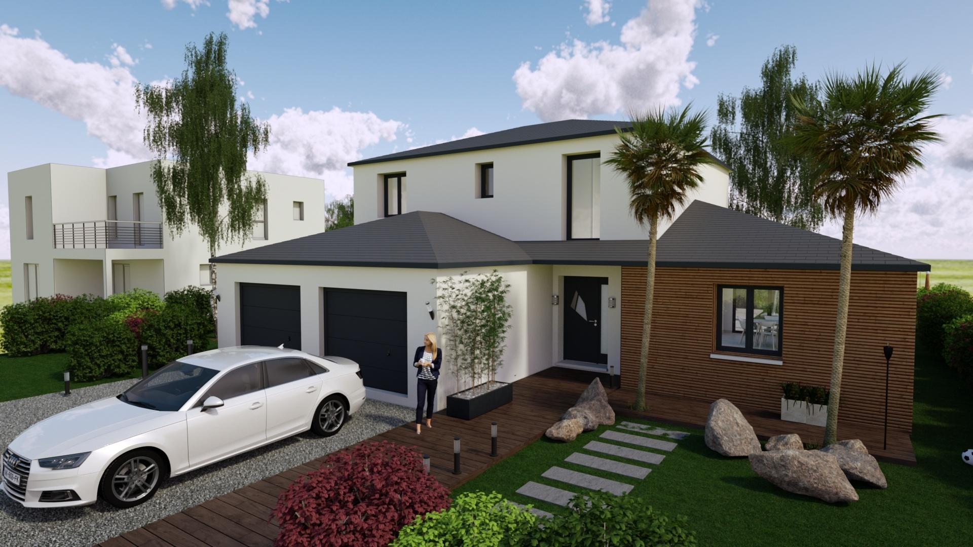Maisons + Terrains du constructeur Maisons Phénix Nancy • 120 m² • LESMENILS