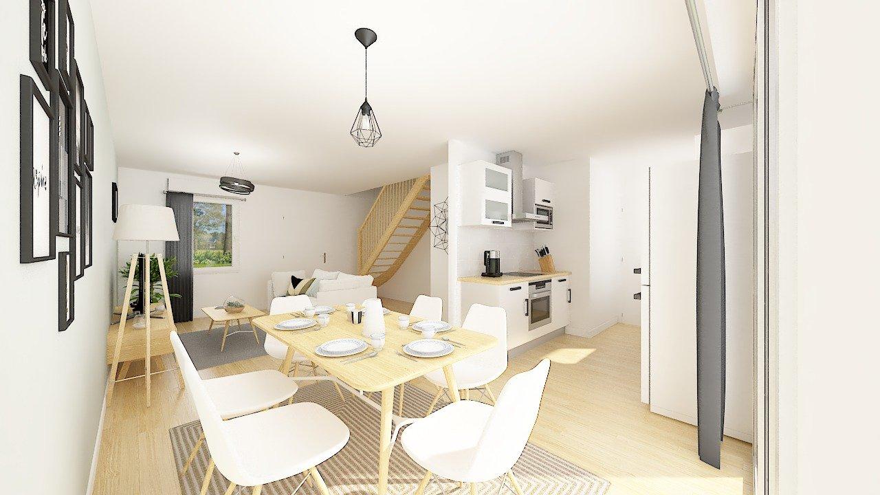 Maisons + Terrains du constructeur Maisons Phénix Nancy • 83 m² • DOMBASLE SUR MEURTHE