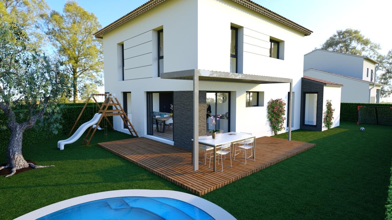 Maisons + Terrains du constructeur Maisons Phénix Nancy • 90 m² • BEZAUMONT