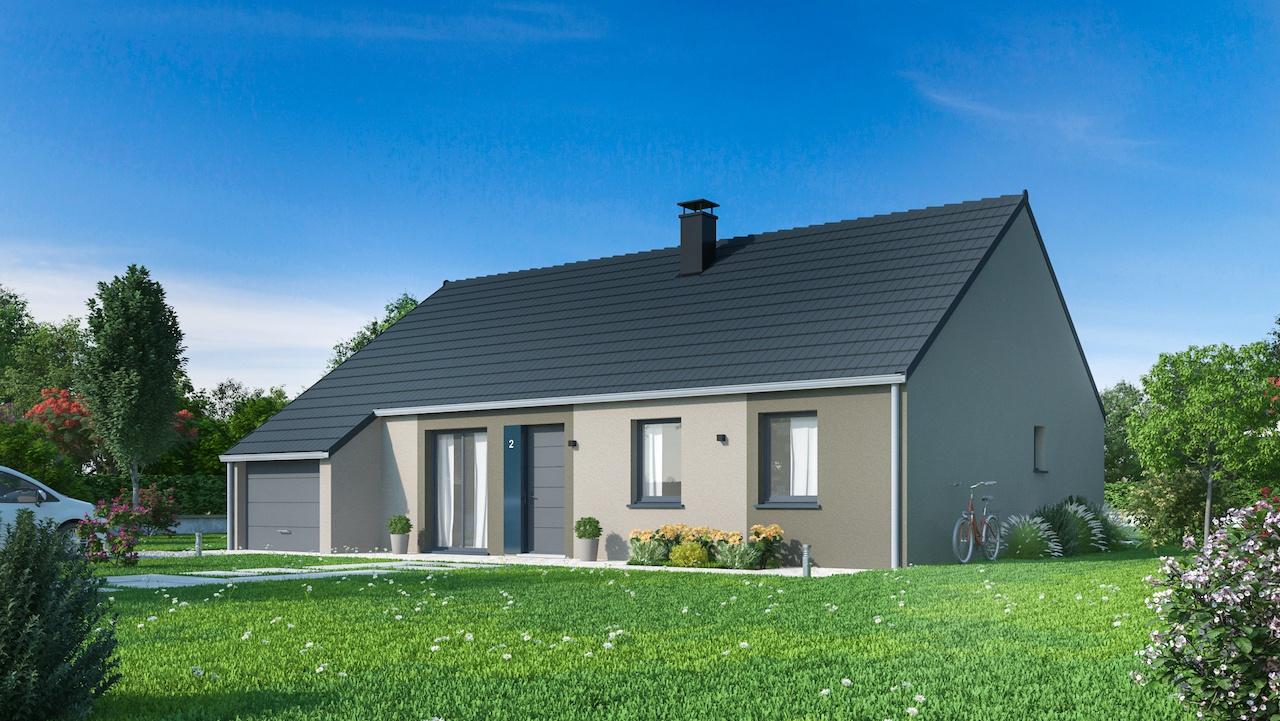 Maisons + Terrains du constructeur Maisons Phénix Nancy • 102 m² • CREVIC