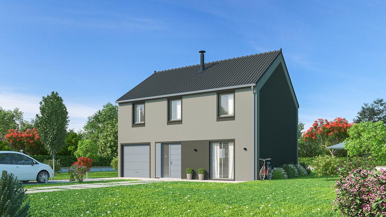 Maisons + Terrains du constructeur Maisons Phénix Nancy • 139 m² • MARBACHE