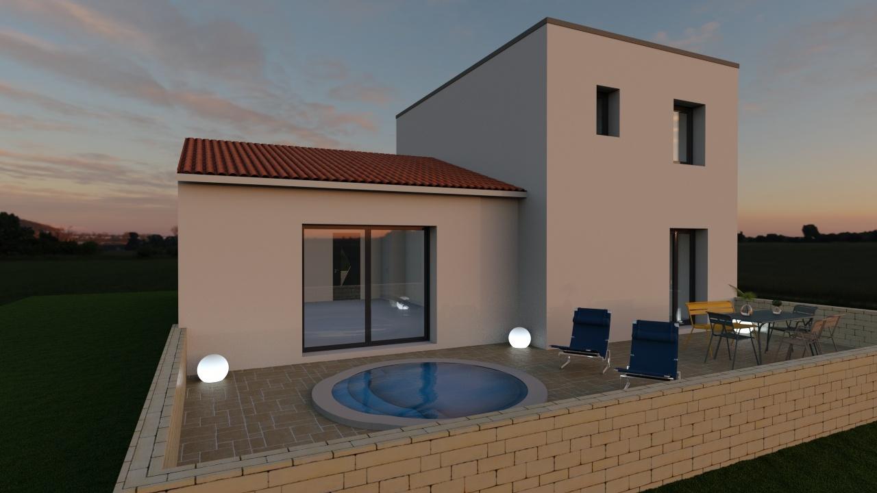 Maisons + Terrains du constructeur Maison Familiale Montpellier • 118 m² • SAINT MATHIEU DE TREVIERS