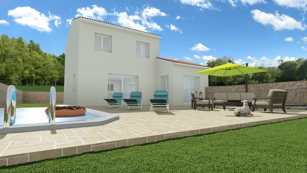 Maisons + Terrains du constructeur Maison Familiale Montpellier • 100 m² • MONTAUD