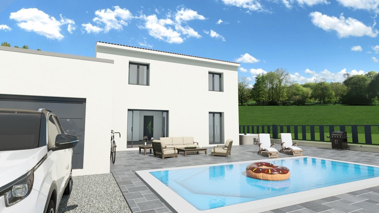 Maisons + Terrains du constructeur Maison Familiale Montpellier • 100 m² • GIGNAC