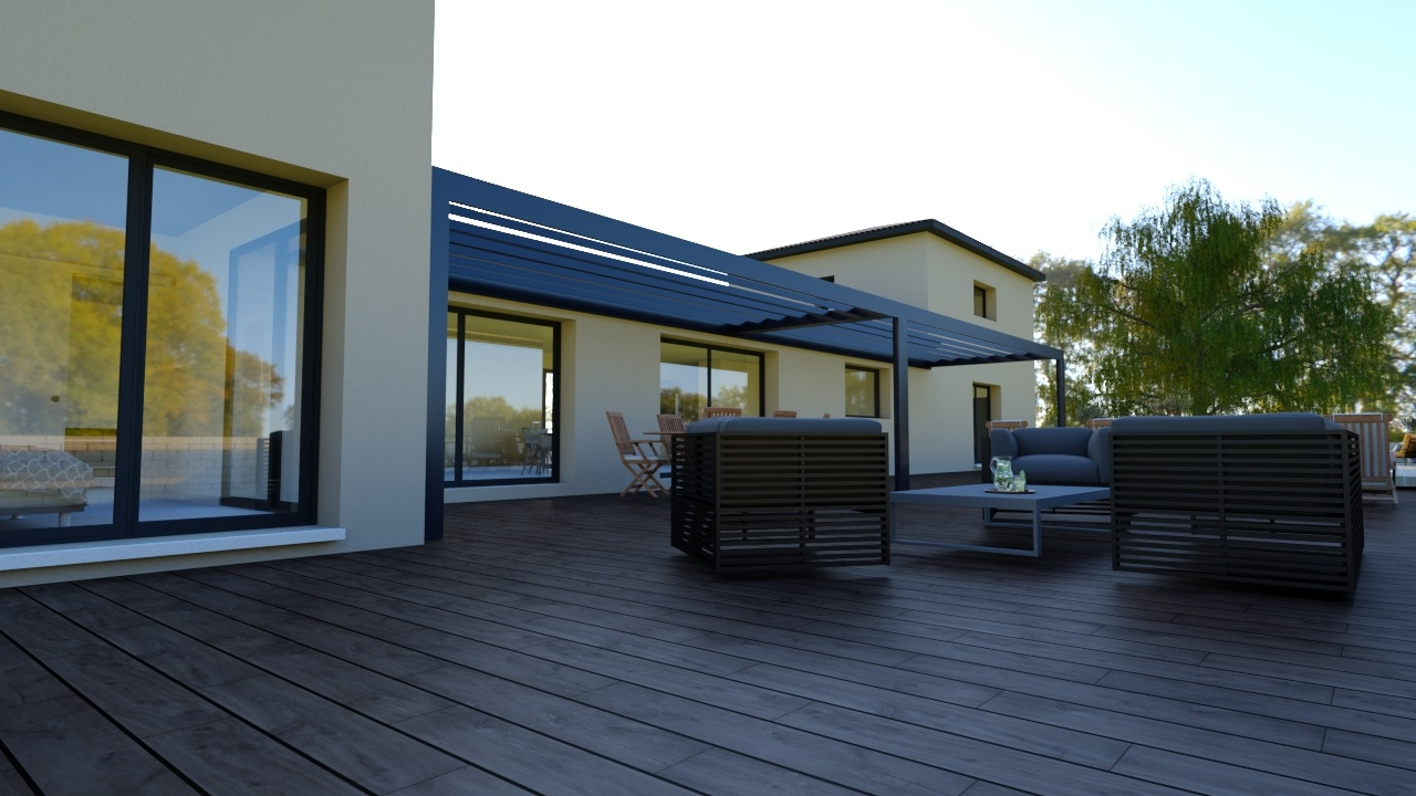 Maisons + Terrains du constructeur Maison Familiale Montpellier • 200 m² • CASTELNAU LE LEZ