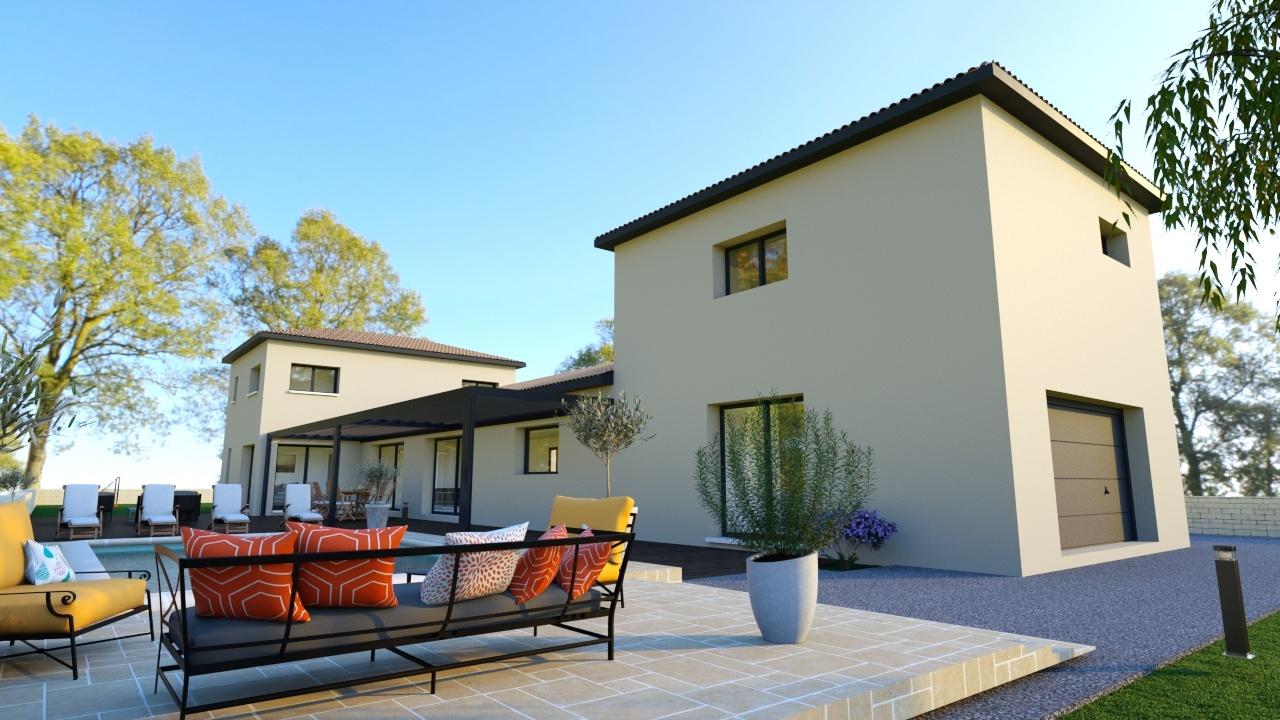 Maisons + Terrains du constructeur Maison Familiale Montpellier • 200 m² • MONTPELLIER