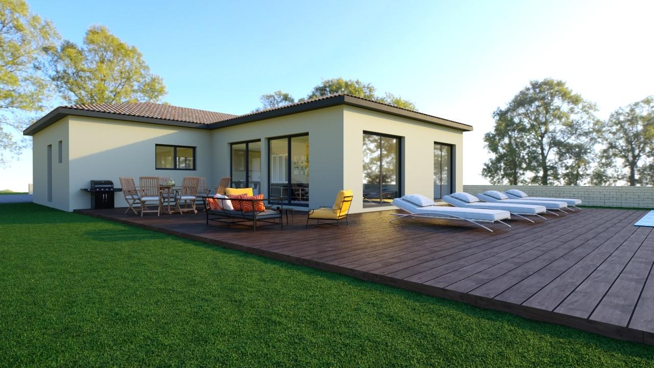 Maisons + Terrains du constructeur Maison Familiale Montpellier • 122 m² • VENDEMIAN