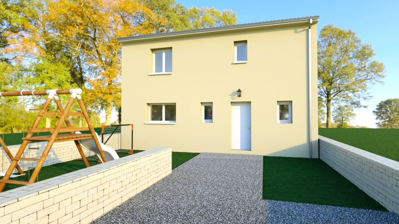 Maisons + Terrains du constructeur Maison Familiale Montpellier • 90 m² • COURNONSEC