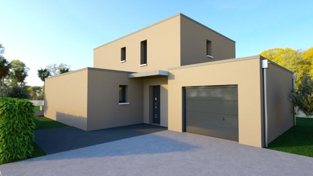Maisons + Terrains du constructeur Maison Familiale Montpellier • 118 m² • LE CRES