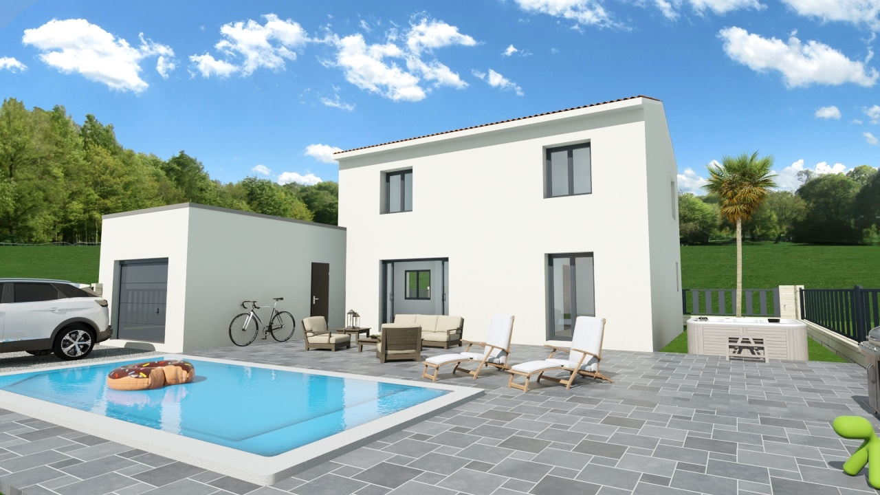 Maisons + Terrains du constructeur Maison Familiale Montpellier • 120 m² • MONTAUD