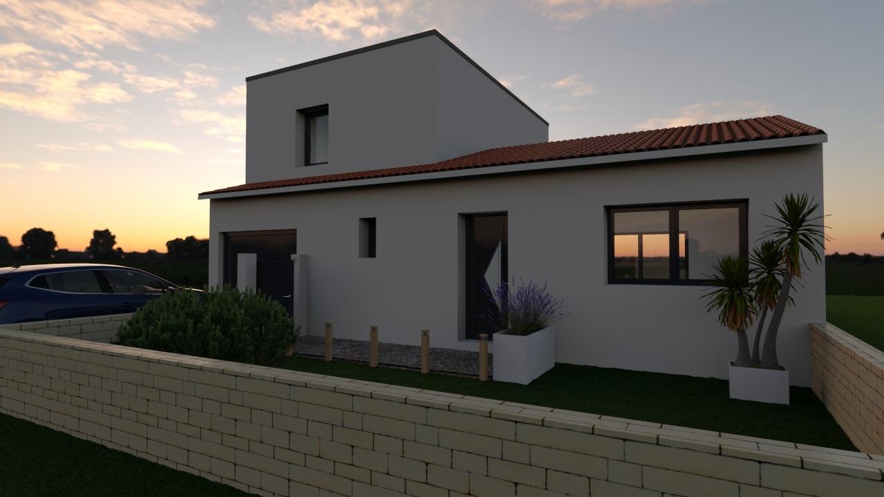 Maisons + Terrains du constructeur Maison Familiale Montpellier • 100 m² • LE TRIADOU