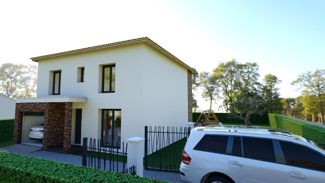 Maisons + Terrains du constructeur MAISON FAMILIALE • 111 m² • DIEULOUARD