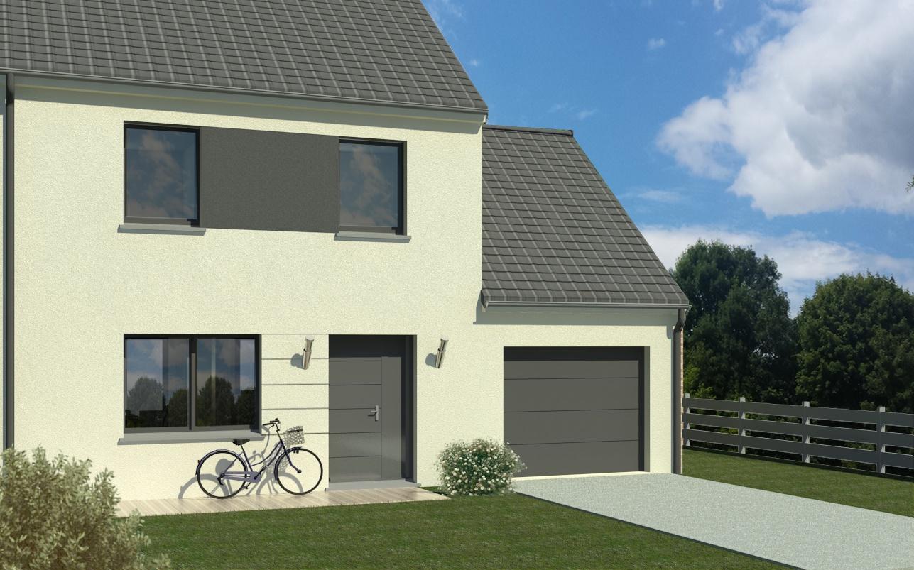 Maisons + Terrains du constructeur MAISON FAMILIALE • 100 m² • DOMBASLE SUR MEURTHE