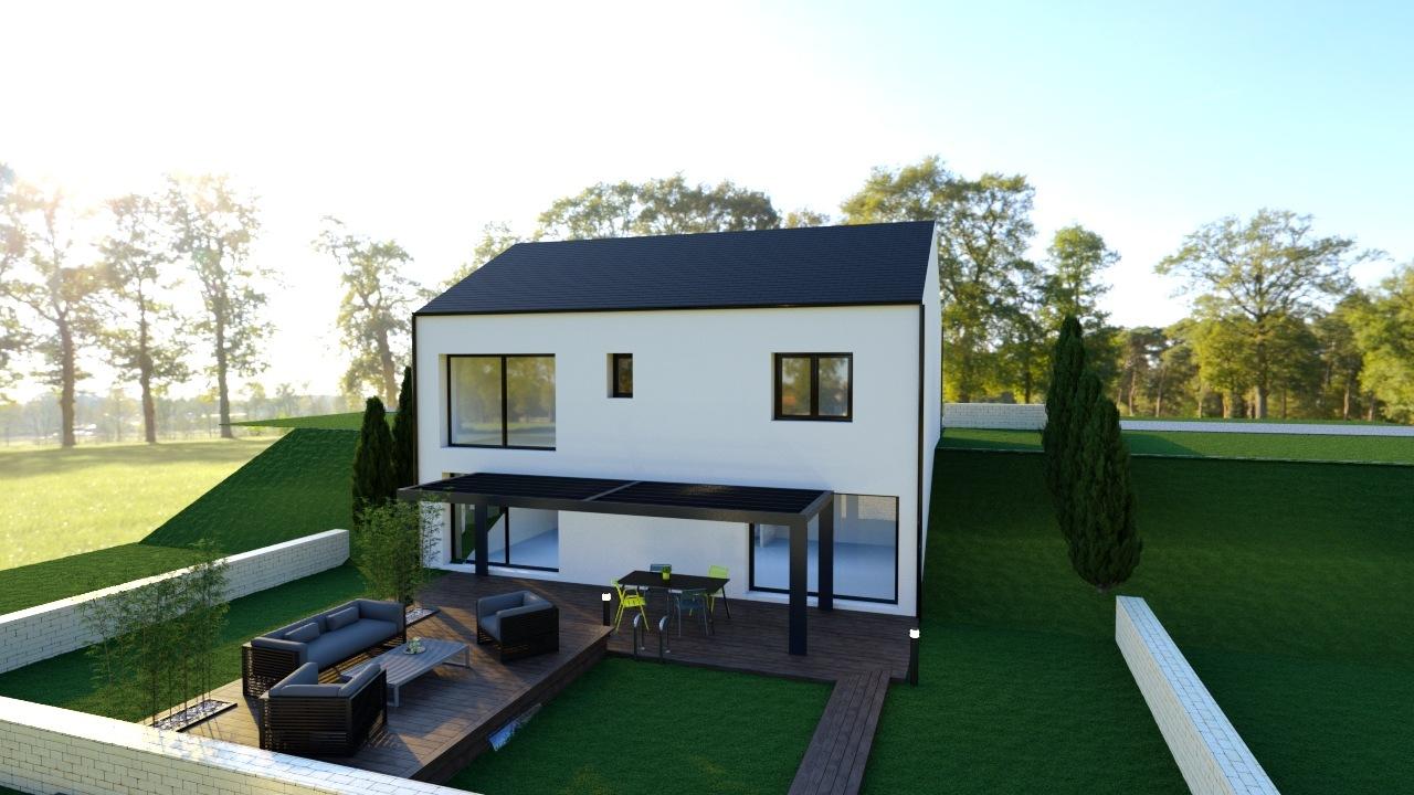 Maisons + Terrains du constructeur MAISON FAMILIALE • 118 m² • HOUDEMONT