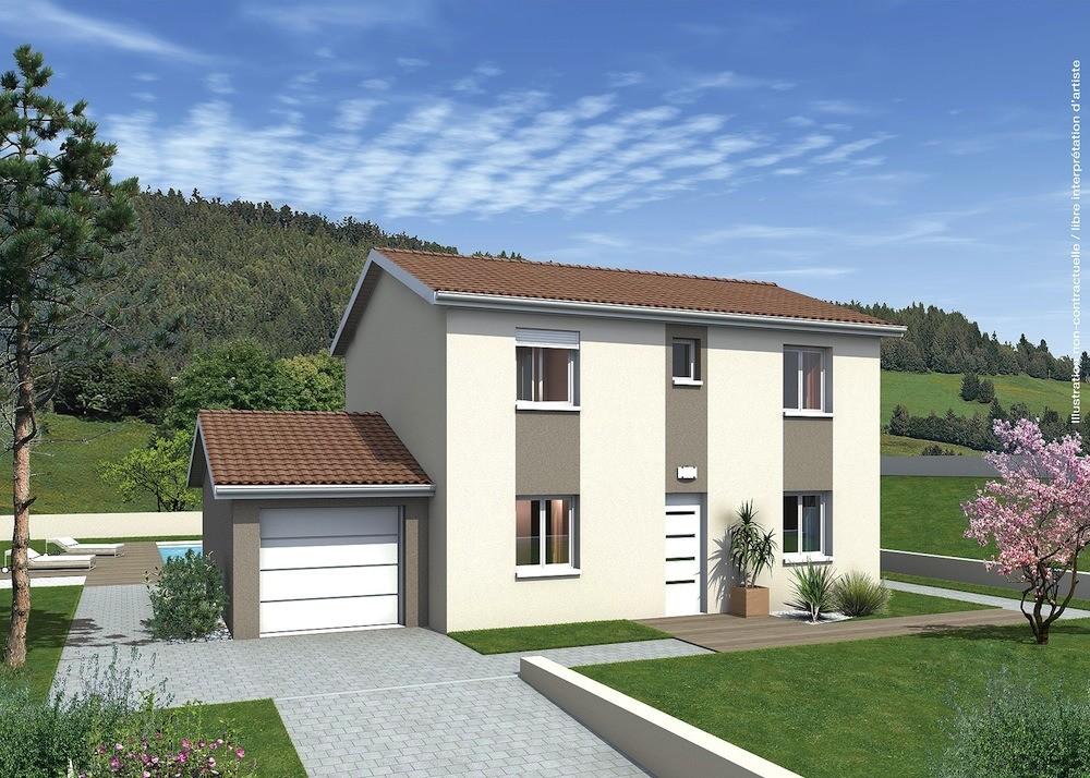 Maisons + Terrains du constructeur MAISONS PUNCH • 111 m² • SAINT VERAND