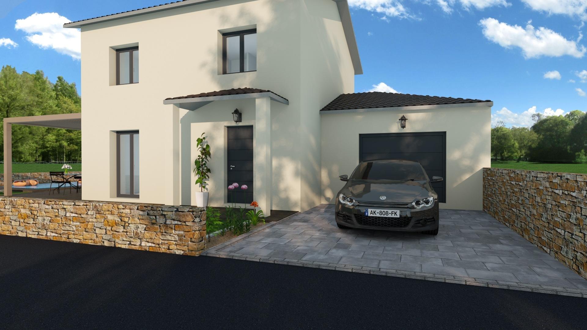 Maisons + Terrains du constructeur MAISONS PUNCH • 99 m² • CHALEINS