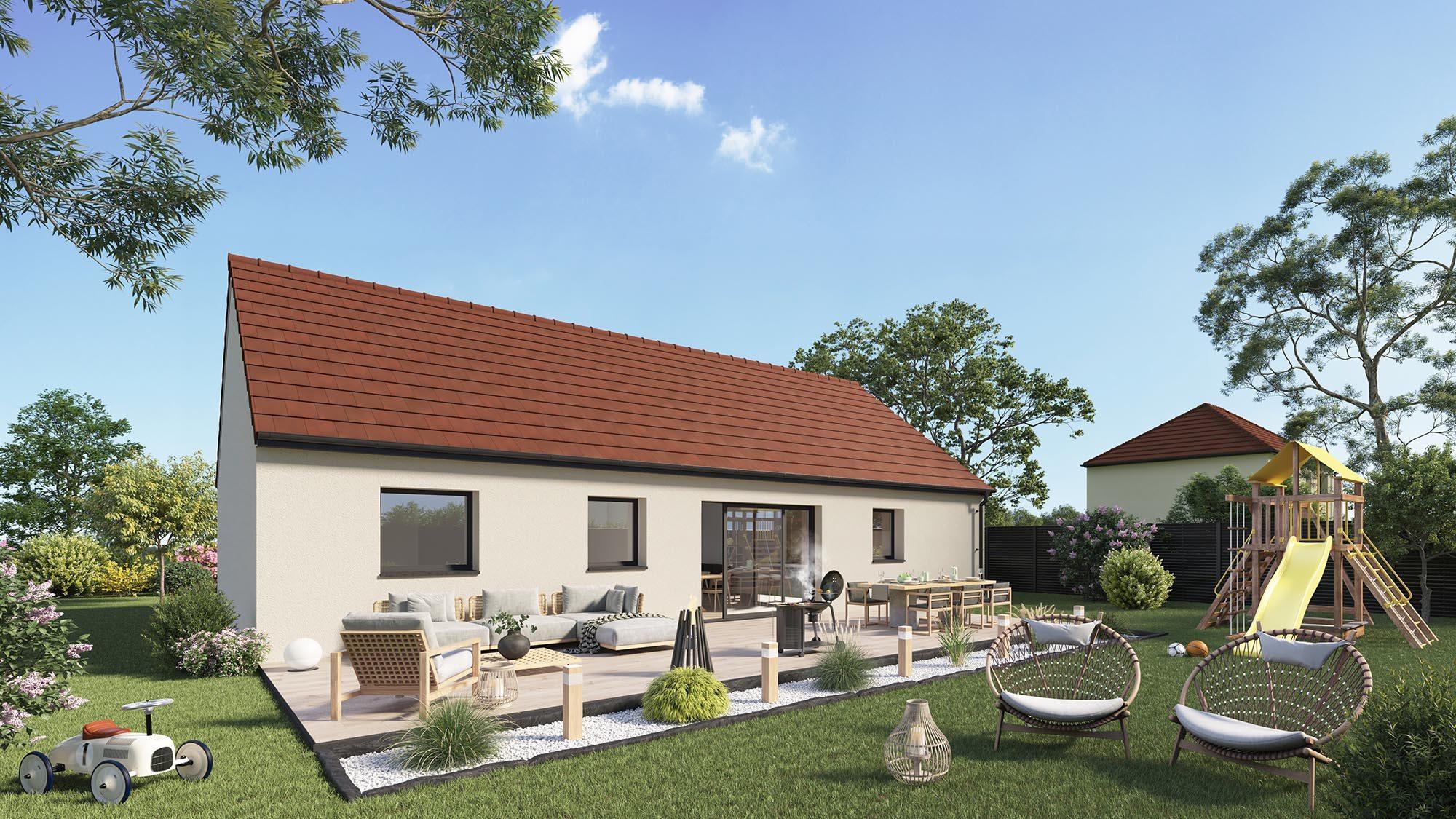 Maisons + Terrains du constructeur Maison Castor Lezennes • 98 m² • FAUMONT