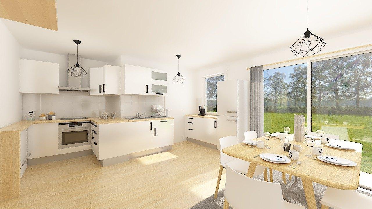 Maisons + Terrains du constructeur MAISONS PHENIX GAVRELLE • 65 m² • NOYELLES SOUS BELLONNE