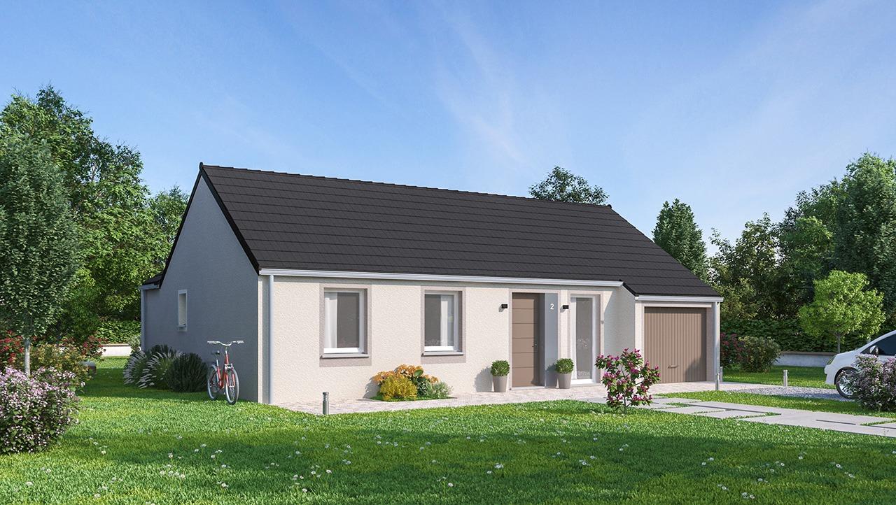 Maisons + Terrains du constructeur MAISONS PHENIX GAVRELLE • 81 m² • MAROEUIL