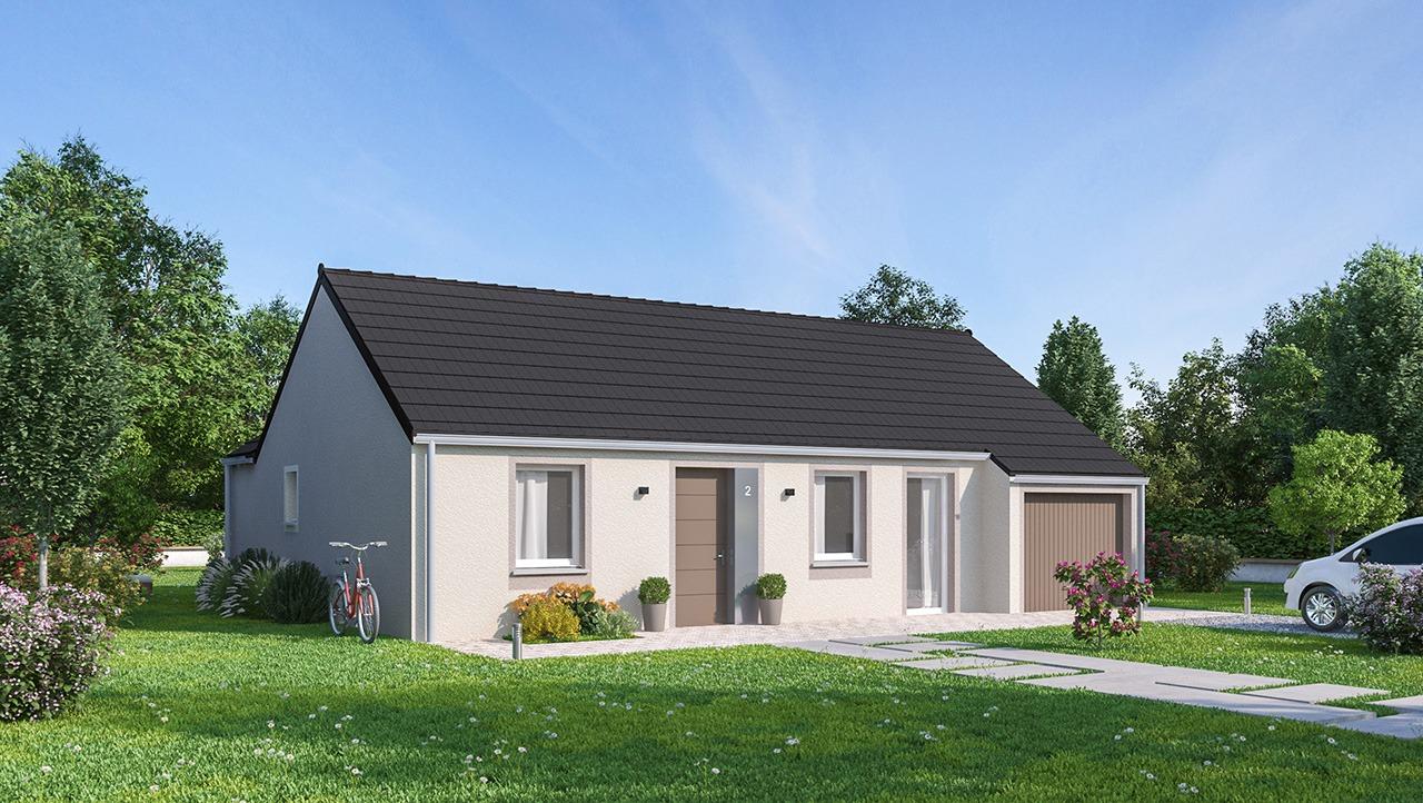 Maisons + Terrains du constructeur MAISONS PHENIX GAVRELLE • 81 m² • LEFOREST