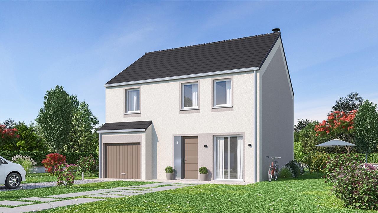 Maisons + Terrains du constructeur MAISONS PHENIX GAVRELLE • 120 m² • WINGLES