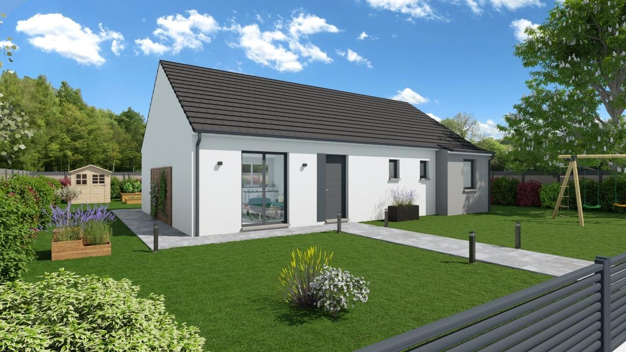 Maisons + Terrains du constructeur Maisons Phénix Gavrelle • 105 m² • BARLIN