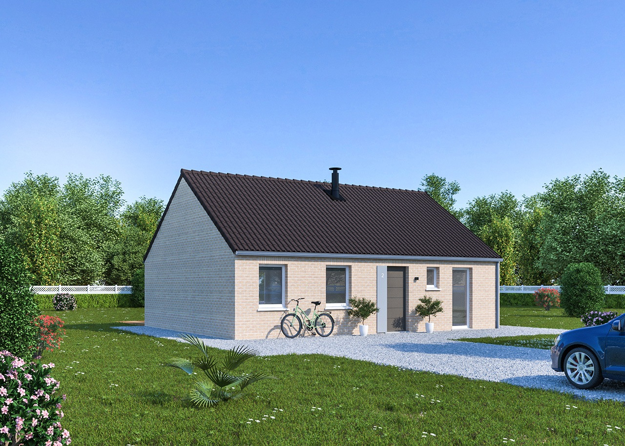 Maisons + Terrains du constructeur Maisons Phénix Gavrelle • 84 m² • BARLIN