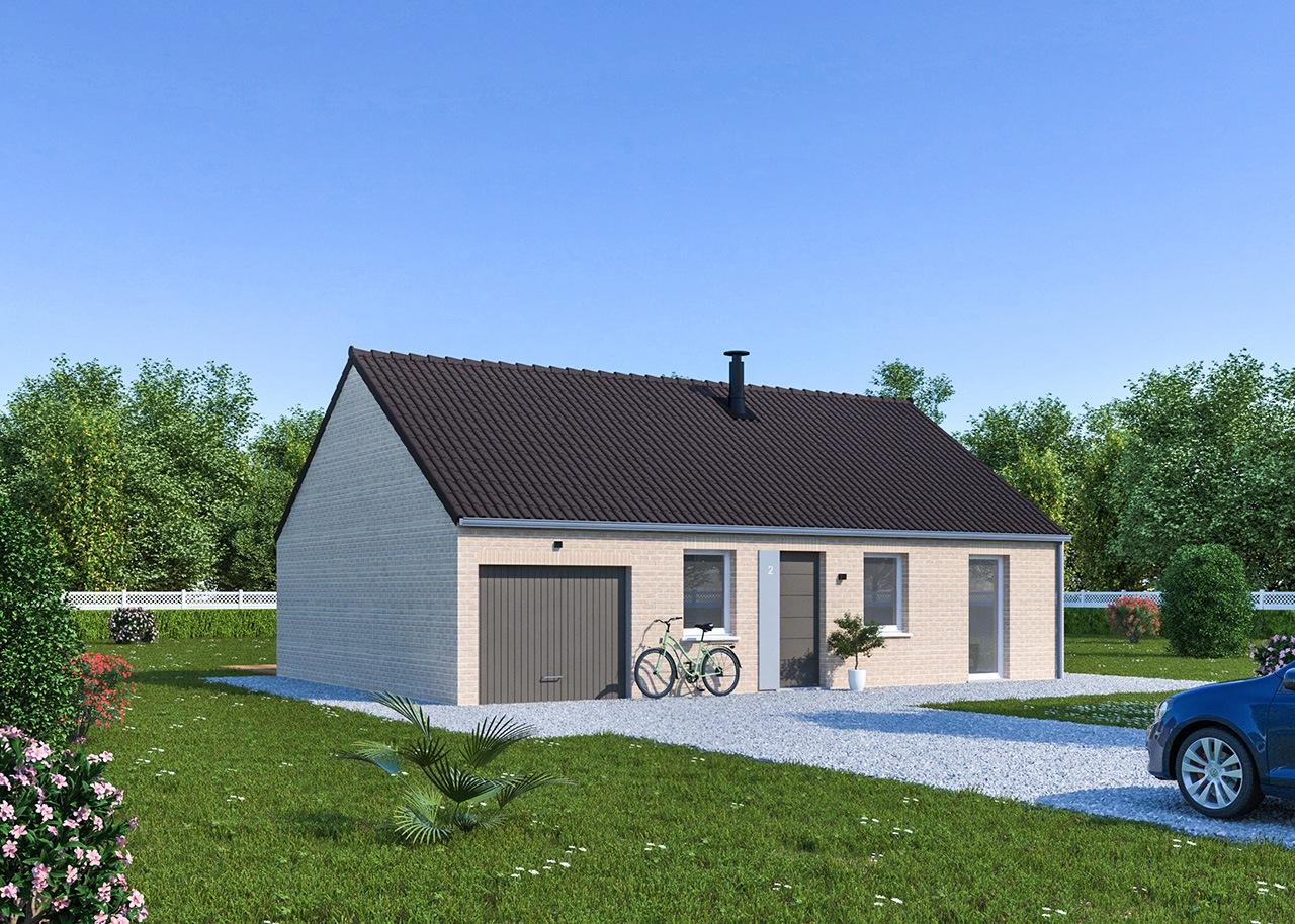 Maisons + Terrains du constructeur Maisons Phénix Gavrelle • 78 m² • HENIN BEAUMONT