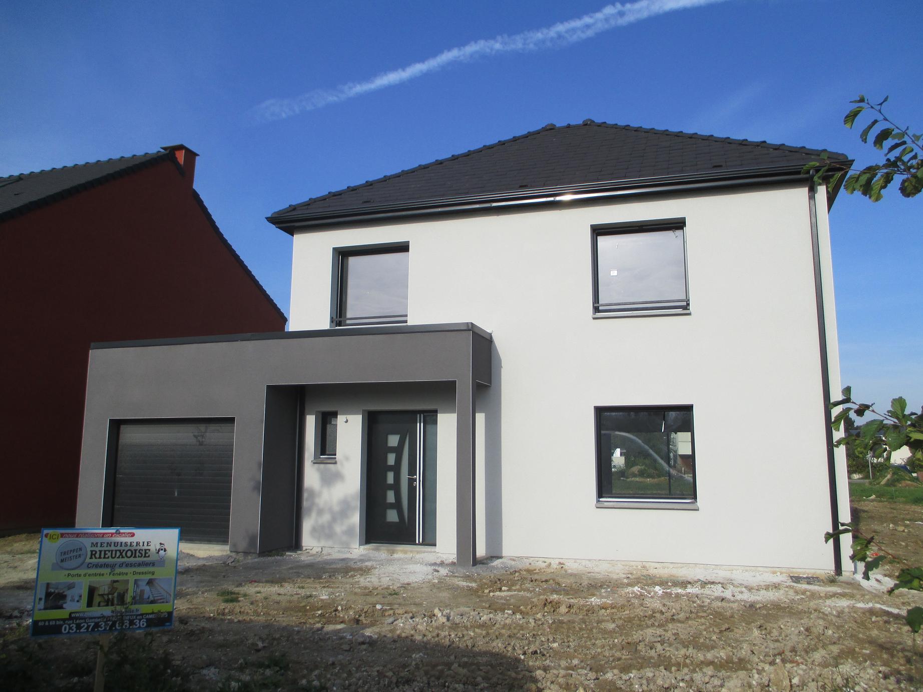 Maisons + Terrains du constructeur Maison Familiale-59121-PROUVY • 108 m² • SAINT AMAND LES EAUX
