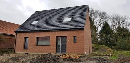 Maisons + Terrains du constructeur Maison Familiale-59121-PROUVY • 109 m² • HERGNIES