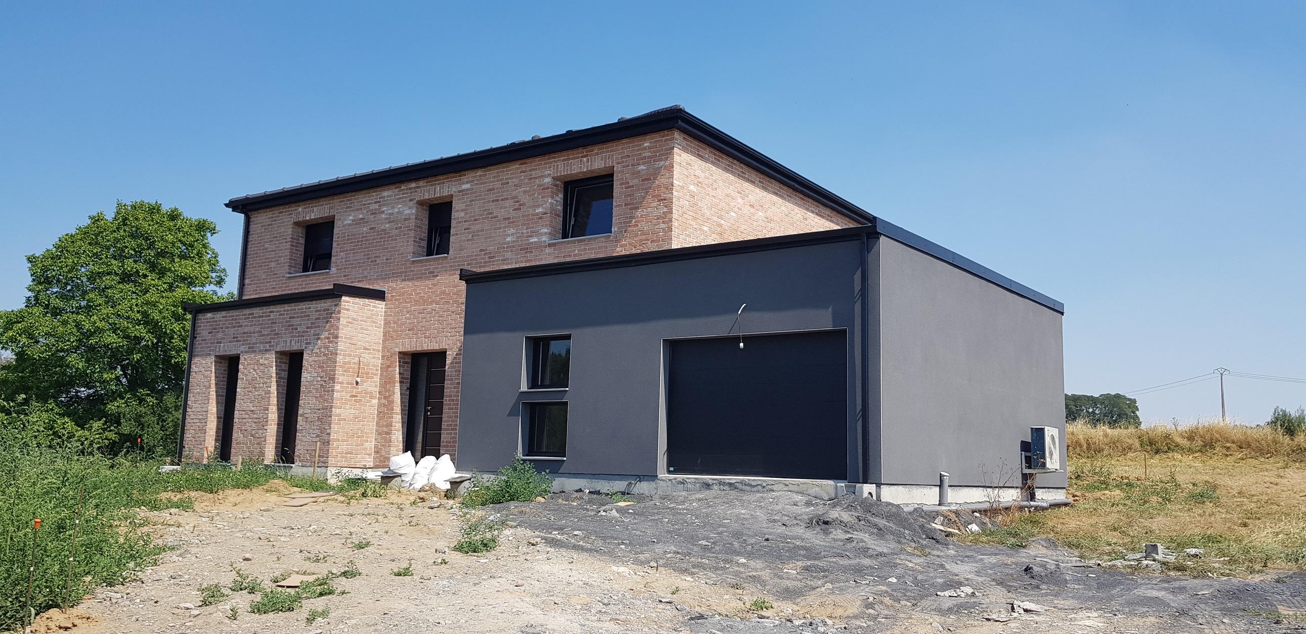 Maisons + Terrains du constructeur Maison Familiale-59121-PROUVY • 131 m² • VALENCIENNES