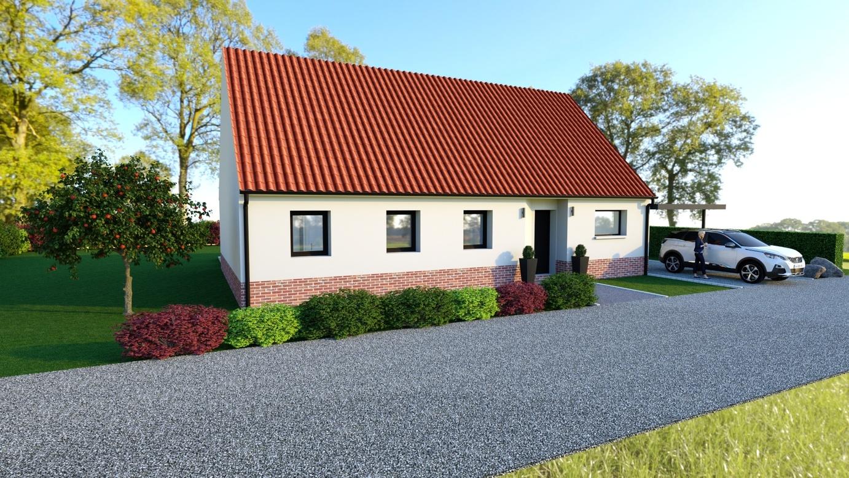 Maisons + Terrains du constructeur Maison Familiale-59121-PROUVY • 110 m² • DENAIN