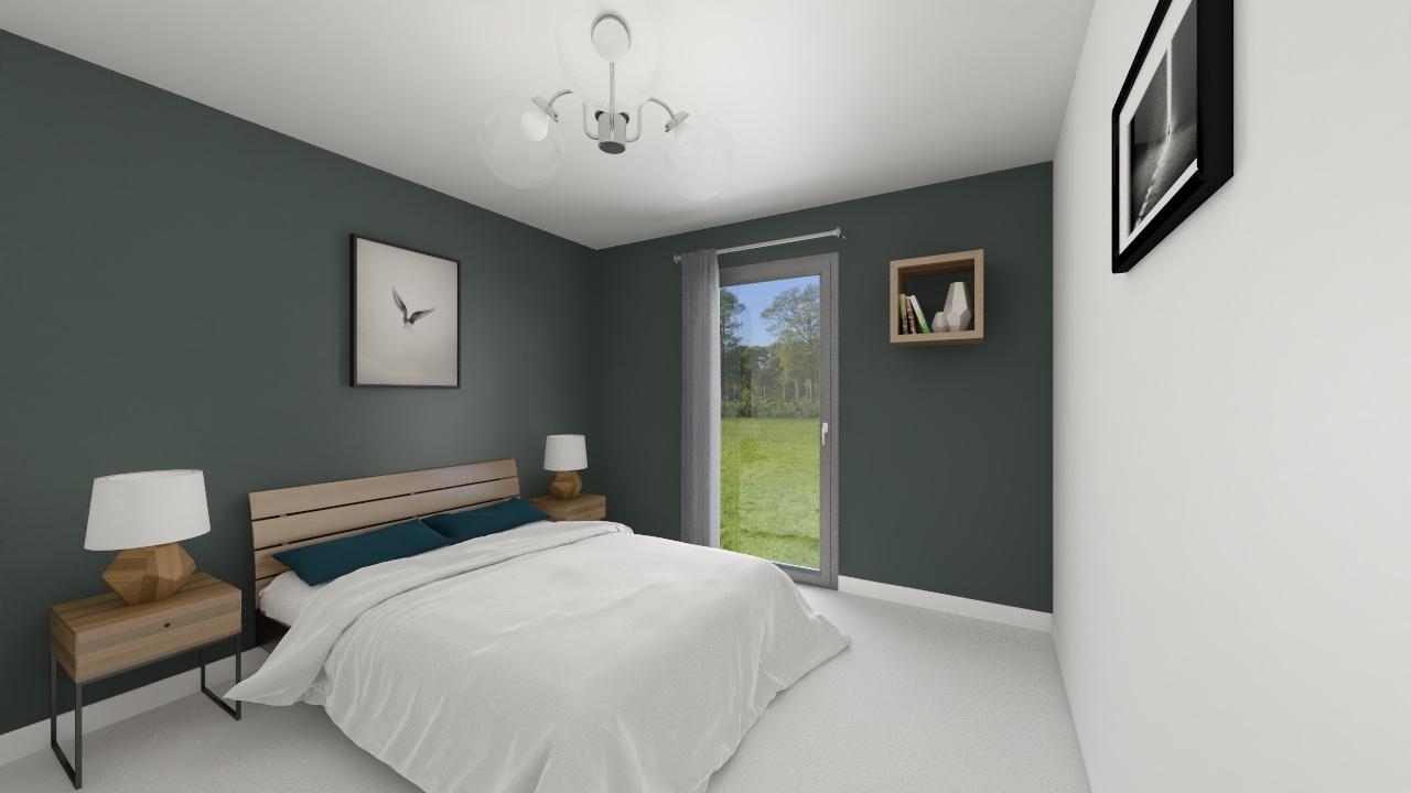 Maisons + Terrains du constructeur Maison Familiale-59121-PROUVY • 128 m² • MONCHAUX SUR ECAILLON