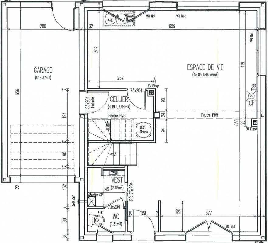 Maisons + Terrains du constructeur Maison Familiale Mazingarbe • 103 m² • HARNES