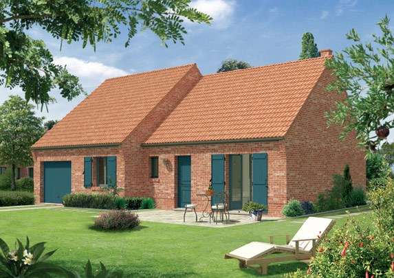 Maisons + Terrains du constructeur Maison Familiale Mazingarbe • 90 m² • THELUS
