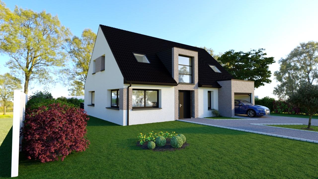 Maisons + Terrains du constructeur Maison Familiale Mazingarbe • 142 m² • TILLOY LES MOFFLAINES