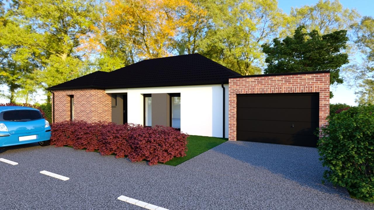 Maisons + Terrains du constructeur Maison Familiale Mazingarbe • 121 m² • VERMELLES