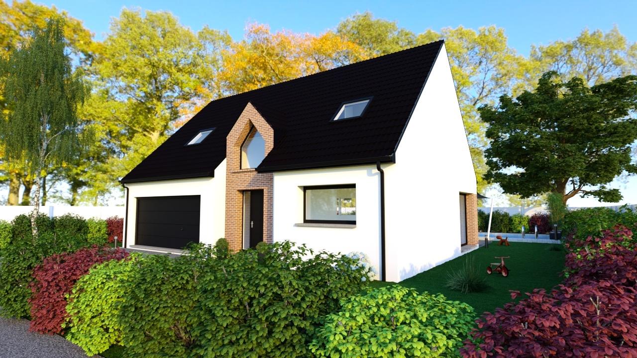 Maisons + Terrains du constructeur Maison Familiale Mazingarbe • 120 m² • VENDIN LES BETHUNE