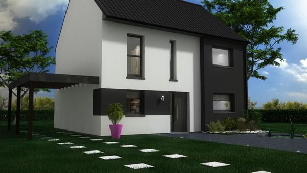 Maisons + Terrains du constructeur MAISON CASTOR LENS • 102 m² • CARVIN